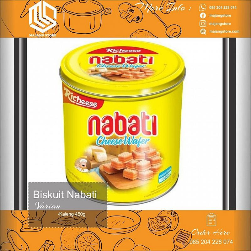 NABATI CHEESE WAFER 350gr