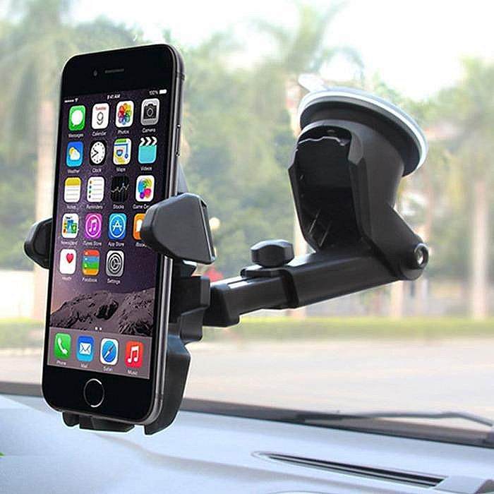 Long Neck Car Holder Mobil Stand Bracket HP GPS Handphone Smartphone