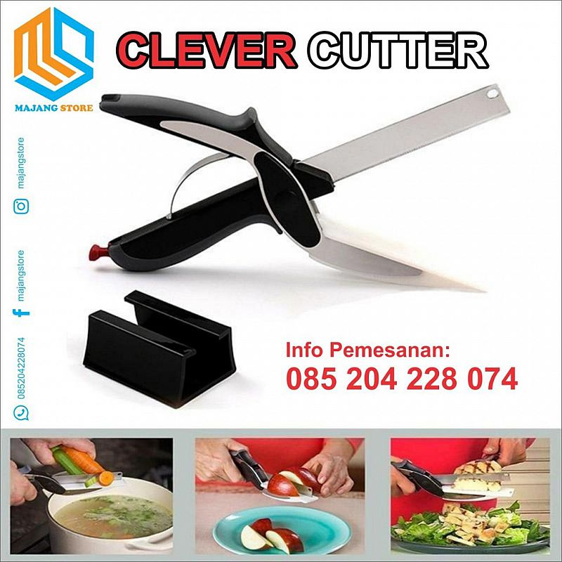 Clever Cutter, Gunting Sayur Daging